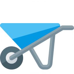 Wheelbarrow Icon 256x256