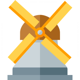 Windmill Icon 256x256