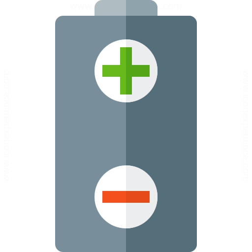 Battery Plus Minus Icon