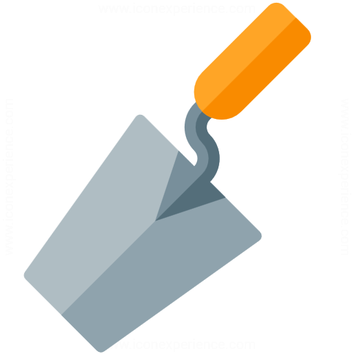 Brick Trowel Icon