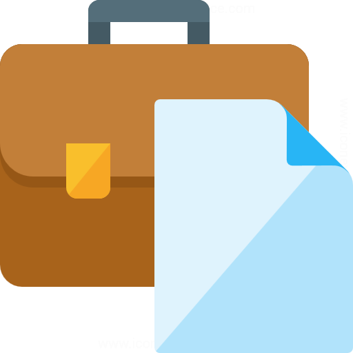 Briefcase Document Icon
