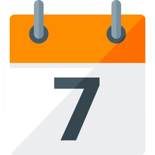 Calendar 7 Icon