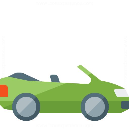 Car Convertible 2 Icon