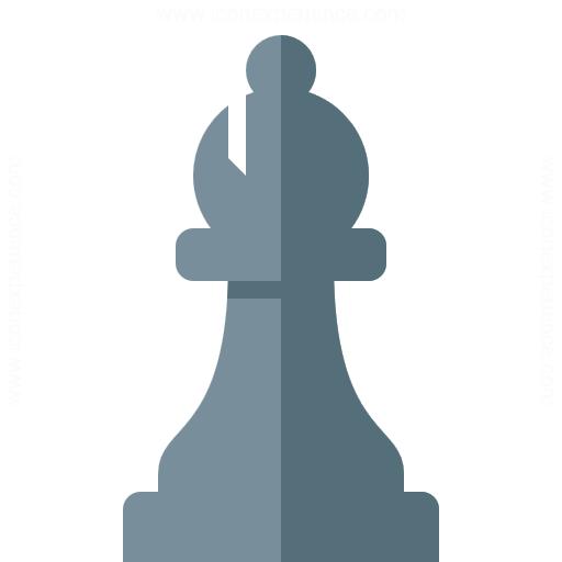 Chess Piece Bishop Icon