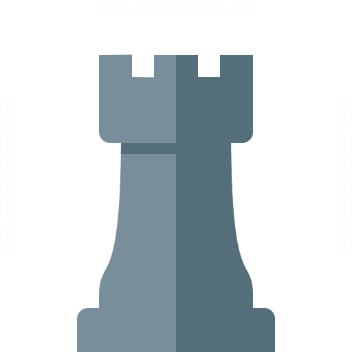 Chess Piece Rook Icon