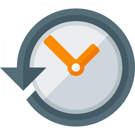 Clock Back Icon