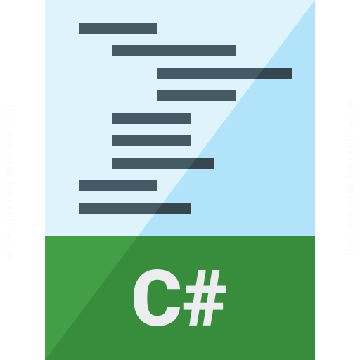 Code Csharp Icon
