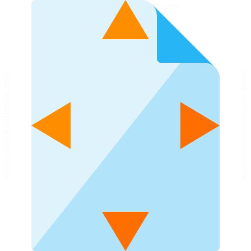 Document Size Icon