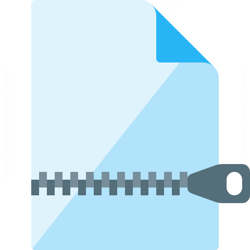 Document Zip Icon