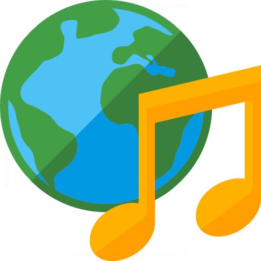 Earth Music Icon