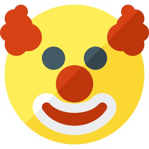 Emoticon Clown Icon