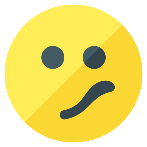 Emoticon Confused Icon