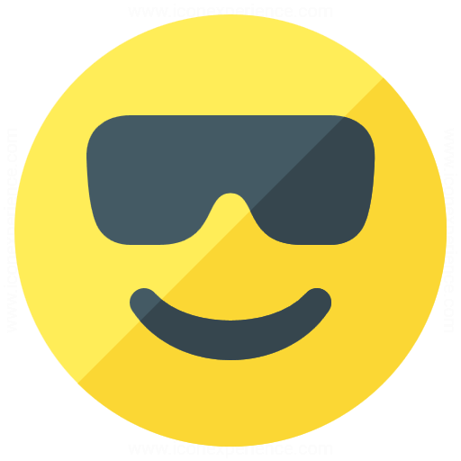 Emoticon Cool Icon
