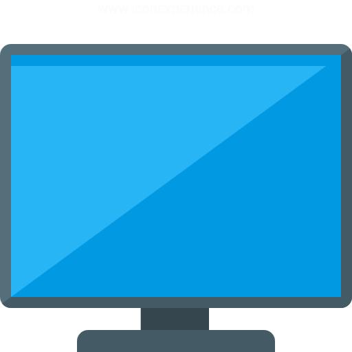 Flatscreen Tv Icon