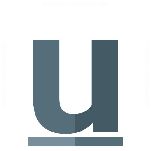 Font Style Underline Icon