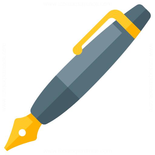 iconexperience g collection fountain pen icon fountain pen icon