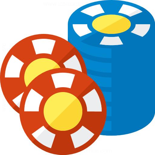 Gambling Chips 2 Icon