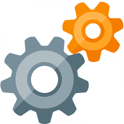 Gearwheels Icon