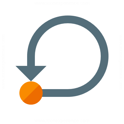 Graph Self Loop Icon