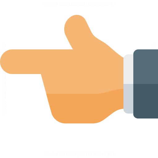 Hand Point Left Icon