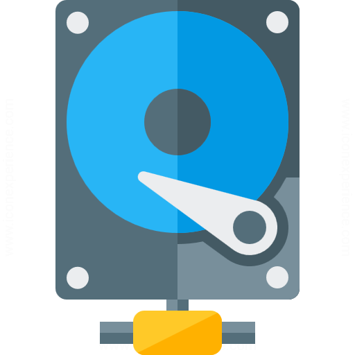 Hard Drive Network Icon