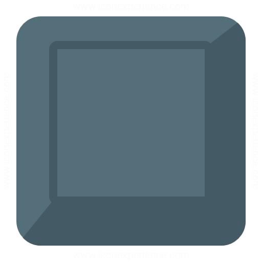 Keyboard Key Empty Icon
