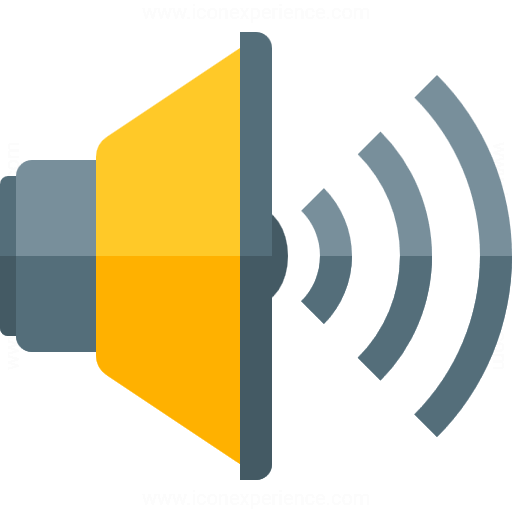 Loudspeaker 4 Icon