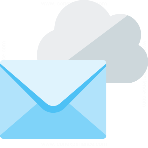 Mail Cloud Icon