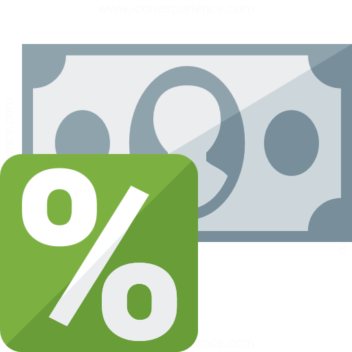 Money Interest Icon