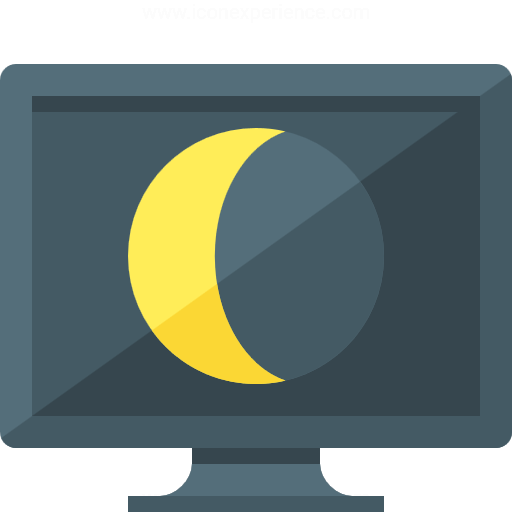 Monitor Sleep Icon