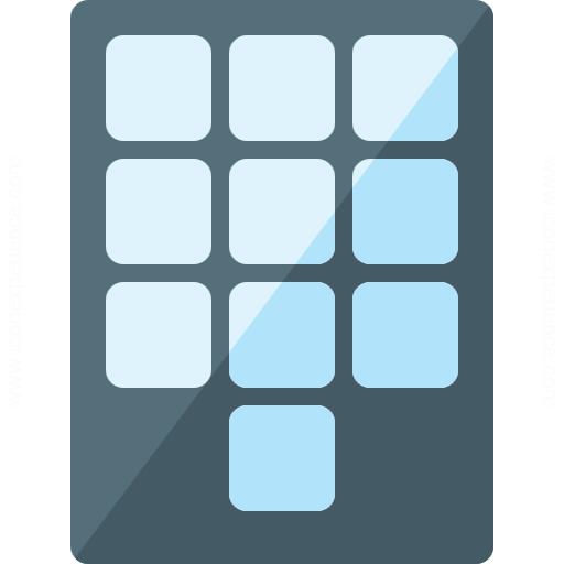 Numeric Keypad Icon