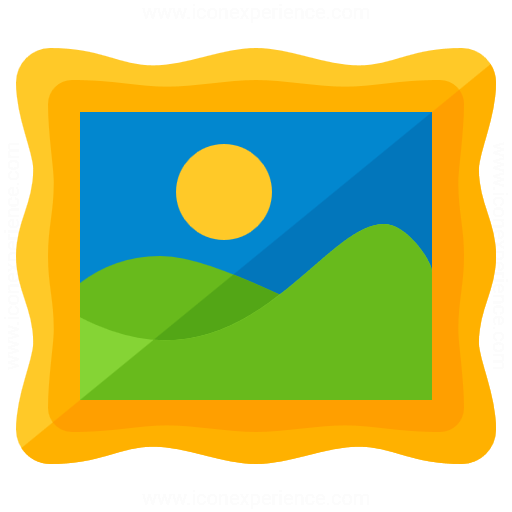 Painting Landscape Icon