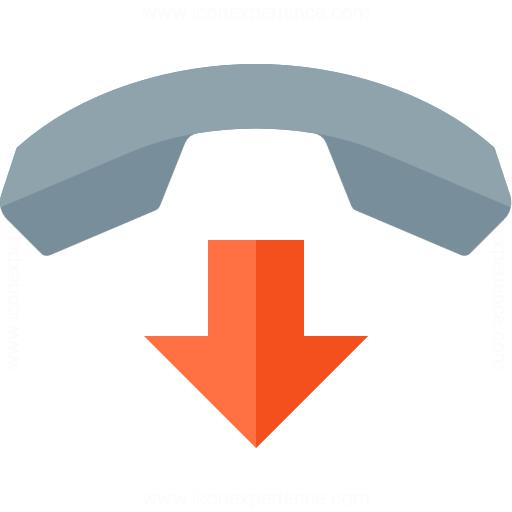 Phone Hang Up Icon