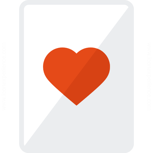 Playing Card Hearts Icon