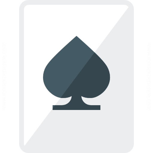 Playing Card Spades Icon
