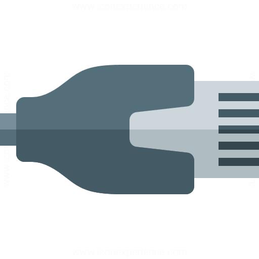 Plug Lan Icon