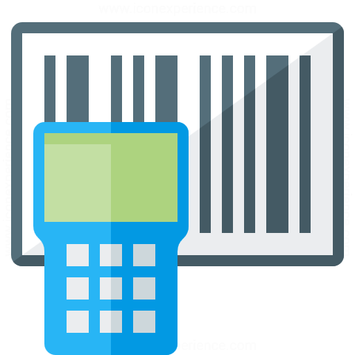 Portable Barcode Scanner Icon