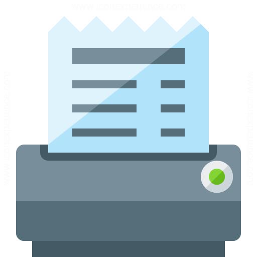 Receipt Printer Icon