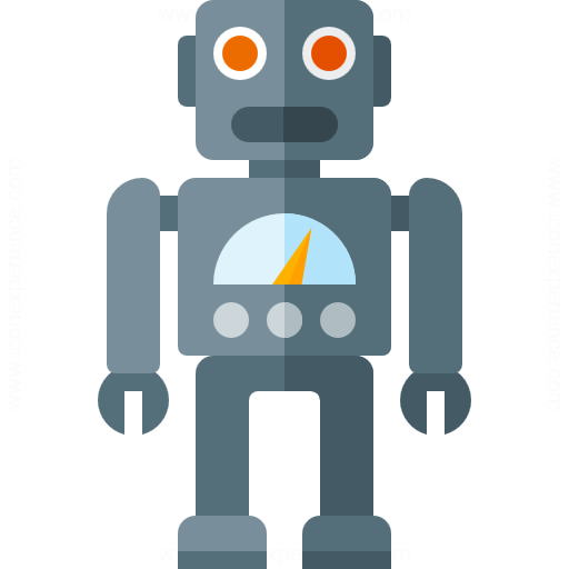 IconExperience » G-Collection » Robot Icon