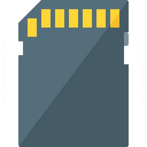 Sd Card Icon