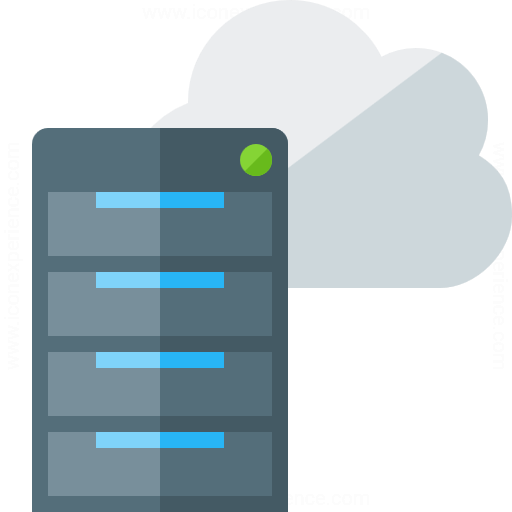 Server Cloud Icon
