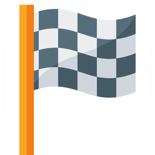 Signal Flag Checkered Icon