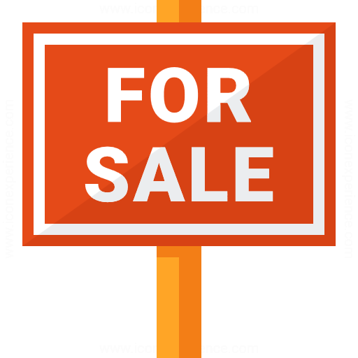 Signboard For Sale Icon