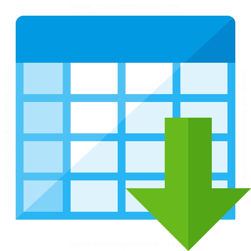 Spreadsheet Sort Ascending Icon