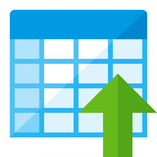 Spreadsheet Sort Descending Icon