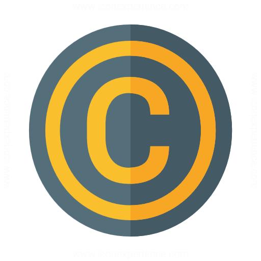 Symbol Copyright Icon