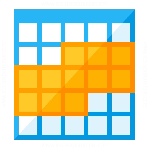 Table Selection Range Icon