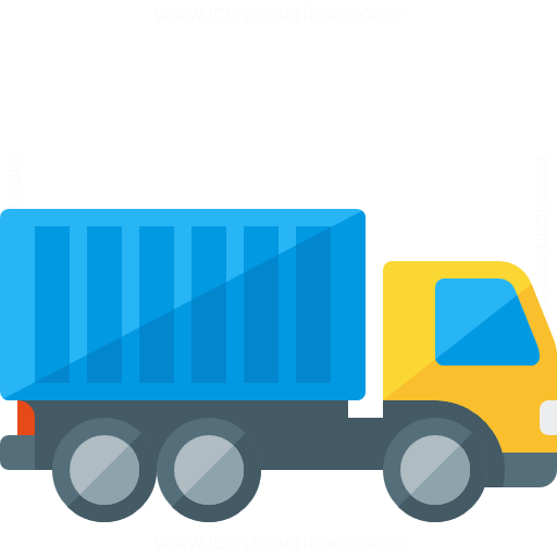 IconExperience » G-Collection » Truck Container Icon