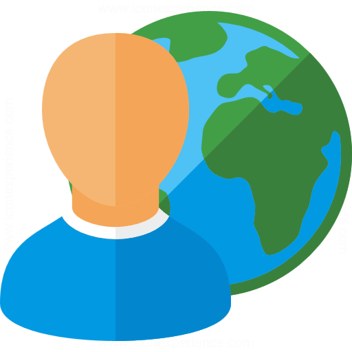 User Earth Icon