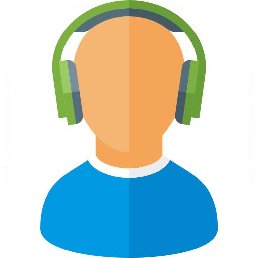 User Headphones Icon
